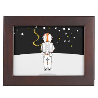 Astronaut Caught Short Weeing in Space Keepsake Box