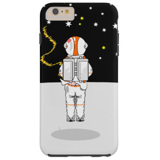 Astronaut Caught Short Weeing in Space Tough iPhone 6 Plus Case