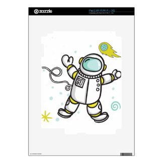 Astronaut Decal For iPad 2