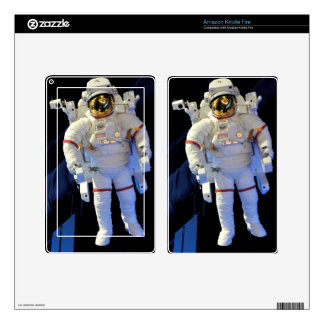 Astronaut Decal For Kindle Fire
