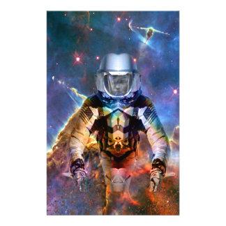 Astronaut Disintegration Stationery