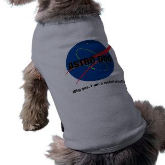 Astronaut Dog Pet Shirt