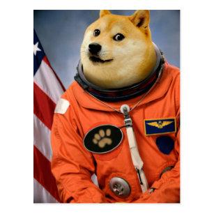 Doge The Dog Postcards Zazzle