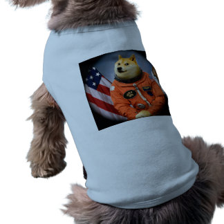 astronaut dog  - doge - shibe - doge memes shirt