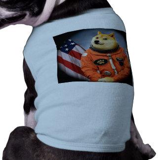 astronaut dog  - doge - shibe - doge memes tee