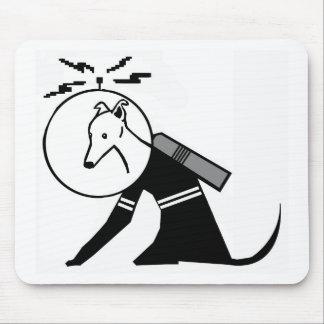 Astronaut dog, Greyhound, Italian greyhound, Space Mouse Pad