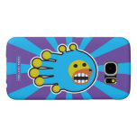 Hand shaped Astronaut Dog Poodle Samsung Galaxy S6 Case