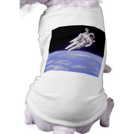 Astronaut Dog Tshirt