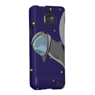 Astronaut Dolphin Samsung Galaxy SII Case