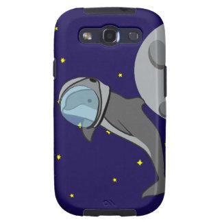 Astronaut Dolphin Galaxy S3 Case