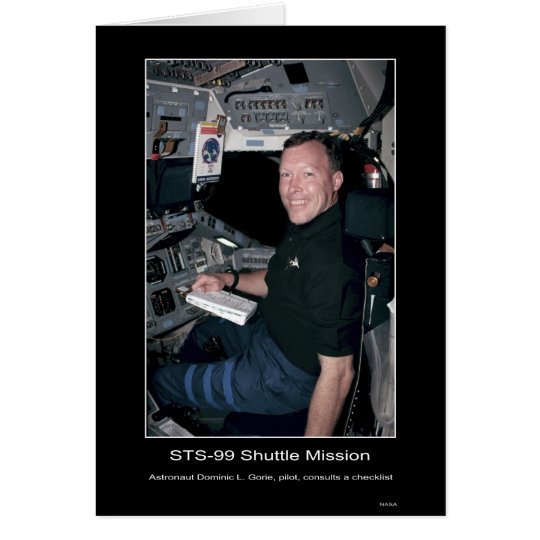 Astronaut Dominic L. Gorie Card