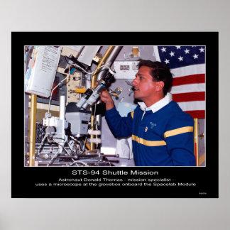 Astronaut Donald Thomas Posters