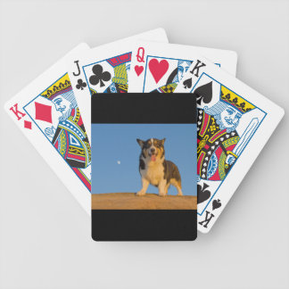 Astronaut Dreaming Bicycle Playing Cards