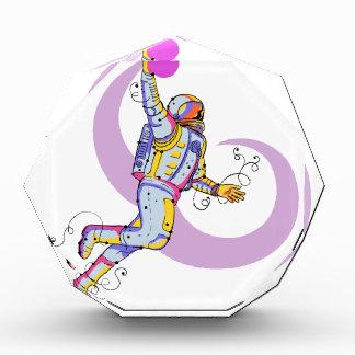 Astronaut Dunking Ball Doodle Award