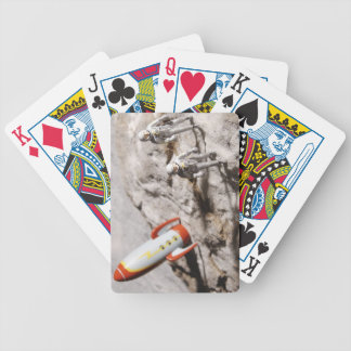 Astronaut Figurines Bicycle Playing Cards