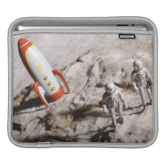 Astronaut Figurines iPad Sleeves