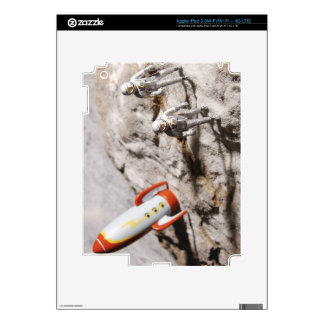 Astronaut Figurines iPad 3 Skins