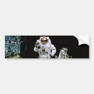 Astronaut Filming Bumper Stickers