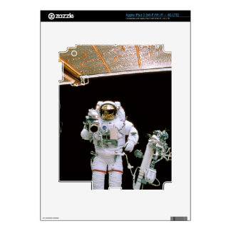 Astronaut Filming Decal For iPad 3