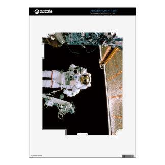 Astronaut Filming iPad 2 Decal