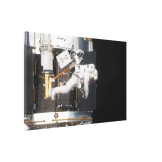 Astronaut Floating Canvas Print