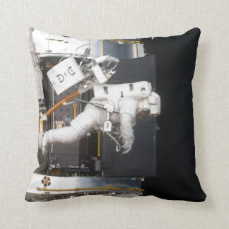 Astronaut Floating Throw Pillow