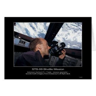 Astronaut Gerhard P. J. Thiele  Card