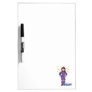 Astronaut-Girl 1 Dry Erase Whiteboards