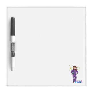 Astronaut-Girl 1 Dry-Erase Board