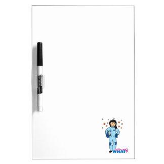 Astronaut-Girl 2 Dry-Erase Board