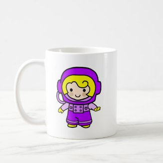 Astronaut Girl 2 mug