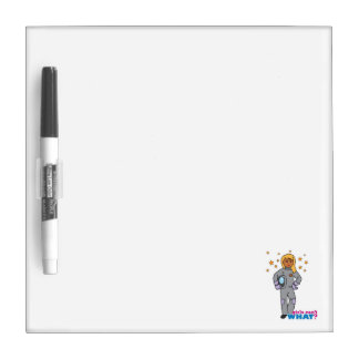 Astronaut-Girl 3 Dry-Erase Boards