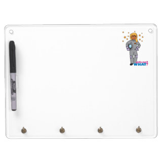 Astronaut-Girl 3 Dry-Erase Whiteboards