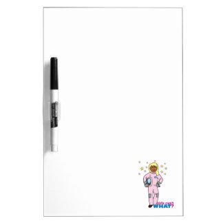 Astronaut-Girl 4 Dry-Erase Whiteboards