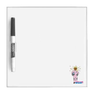 Astronaut-Girl 4 Dry-Erase Board