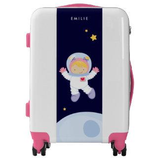 Astronaut Girl Luggage