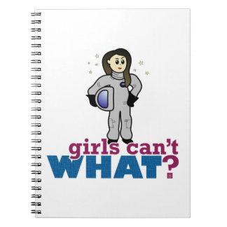 Astronaut Girl Notebooks