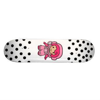 Astronaut Girl Skateboard Deck