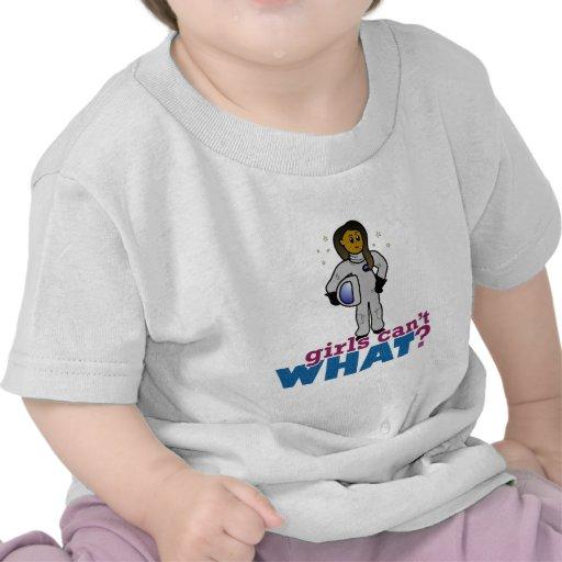 Astronaut Girls T Shirts