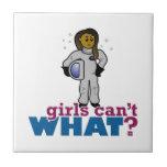 Astronaut Girls Tile