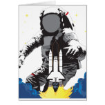 Astronaut Greeting Cards