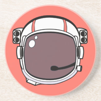 Astronaut Helmet for the Nerd Geeks Coaster
