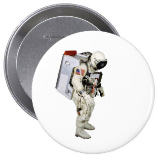 Astronaut image for Giant-Round-Badge Button
