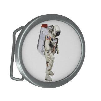 Astronaut image for Oval-Belt-Buckle Belt Buckle