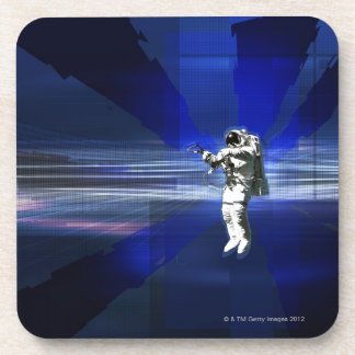 Astronaut in Space Drink Coasters