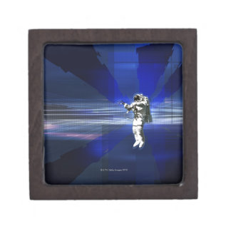 Astronaut in Space Gift Box