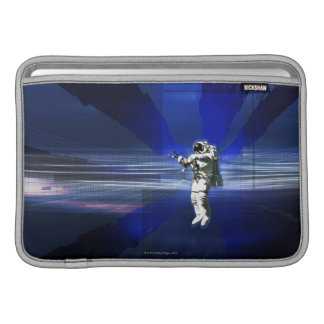 Astronaut in Space Sleeves For MacBook Air