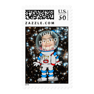Astronaut in Training - Astro Child Template Postage