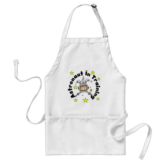 Astronaut in Training Tshirts and Gifts Adult Apron