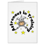 Astronaut in Training Tshirts and Gifts Greeting Cards